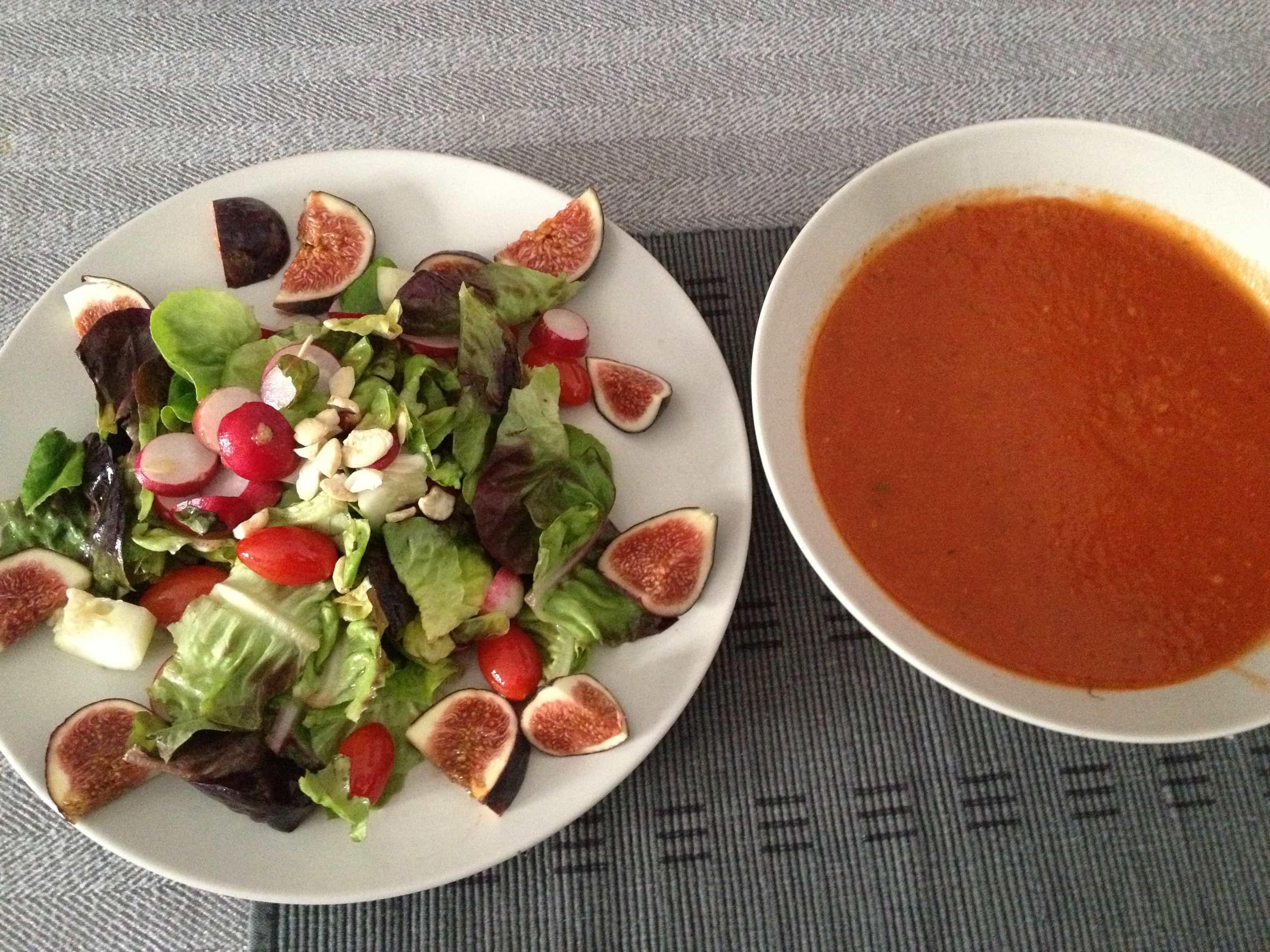 Tomatensuppe – erntefrisch