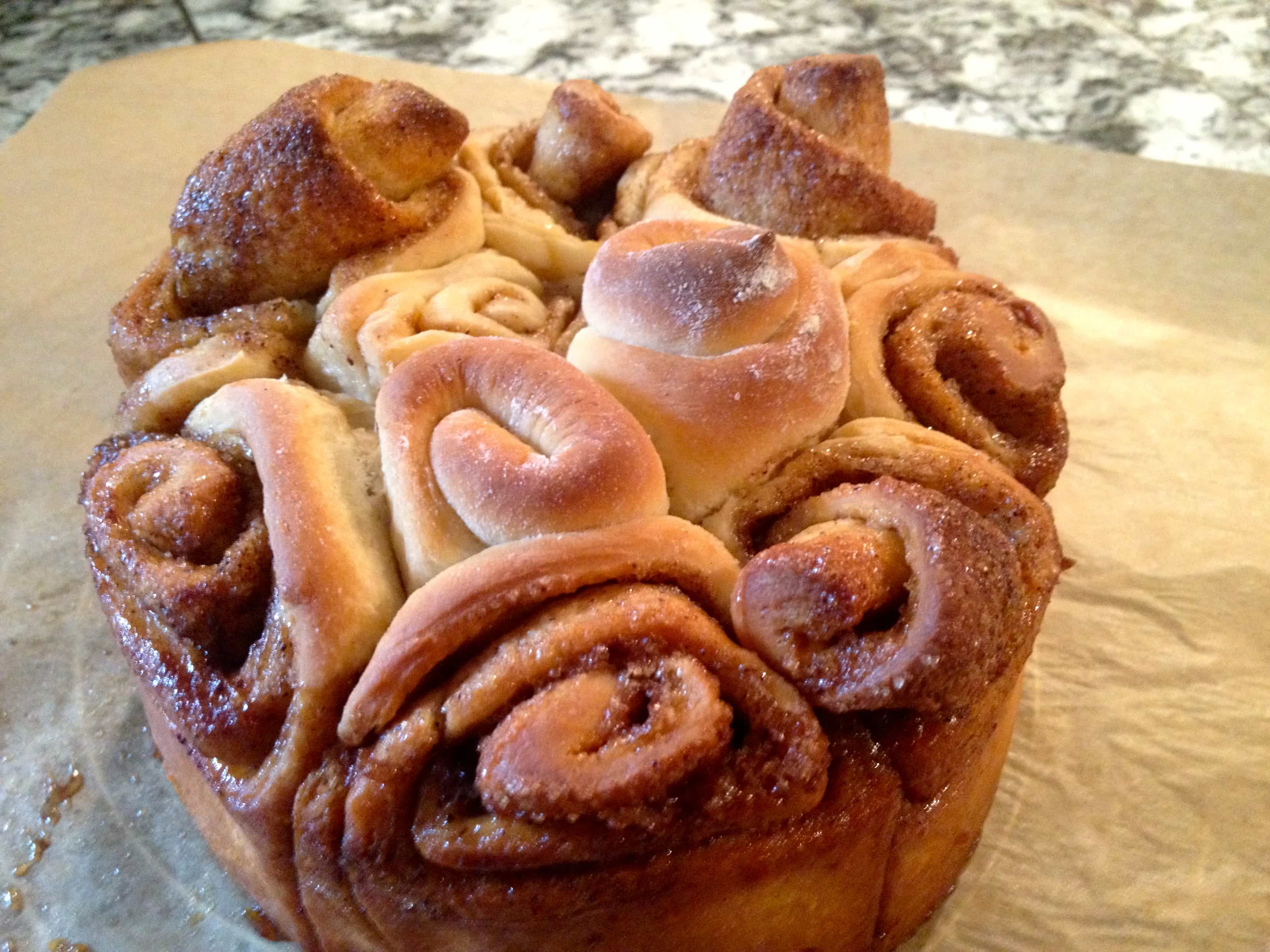 Zimtrosen-Kuchen