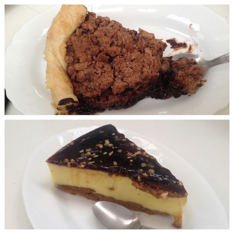 Unser Kuchen im Veganitessen