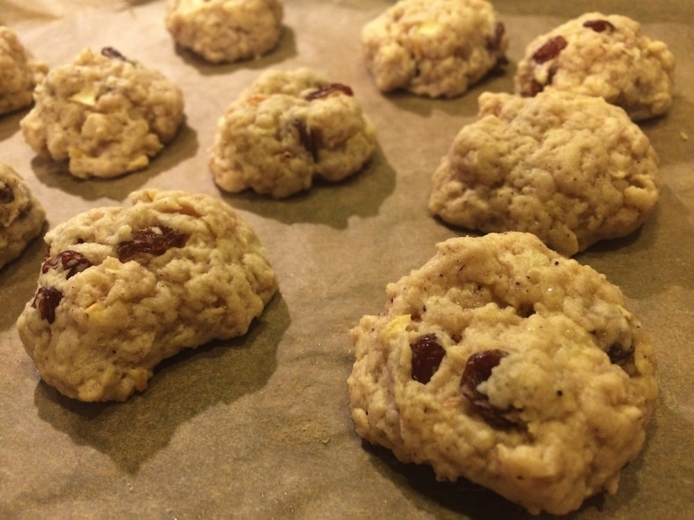 Bratapfel-Happen – neues aus unserer veganen Weihnachtsbäckerei