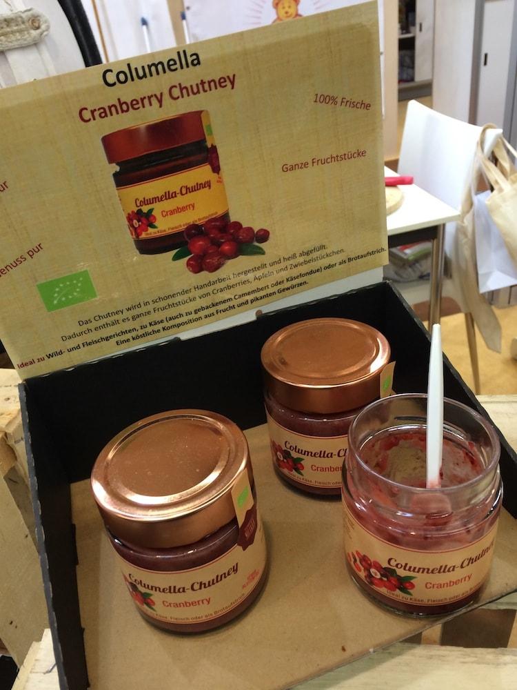 Columella Cranberry-Chutney