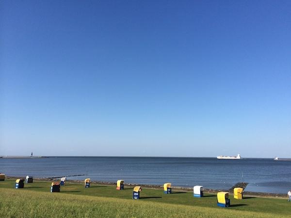 Als in Cuxhaven wieder die Sonne scheinte...