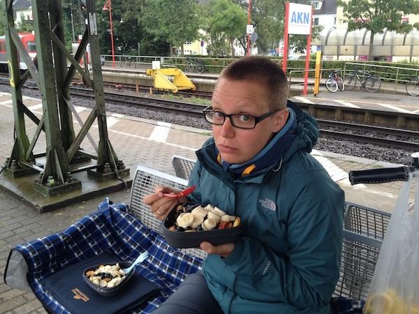 Frostiges Frühstück in Elmshorn