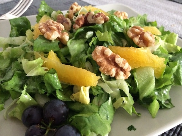 Endiviensalat mit fruchtiger Vinaigrette