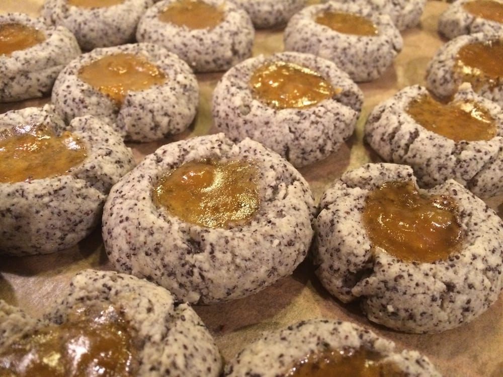 Mohn-Marzipan-Marmeladen-Plätzchen – hmmm!