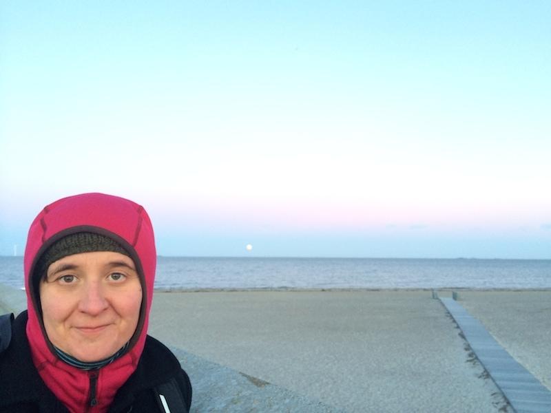 Mondaufgang am Amager Strandpark