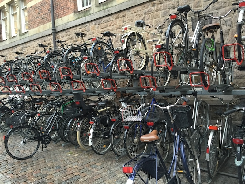 Kopenhagen - Unterwegs mit den Fahrrad
