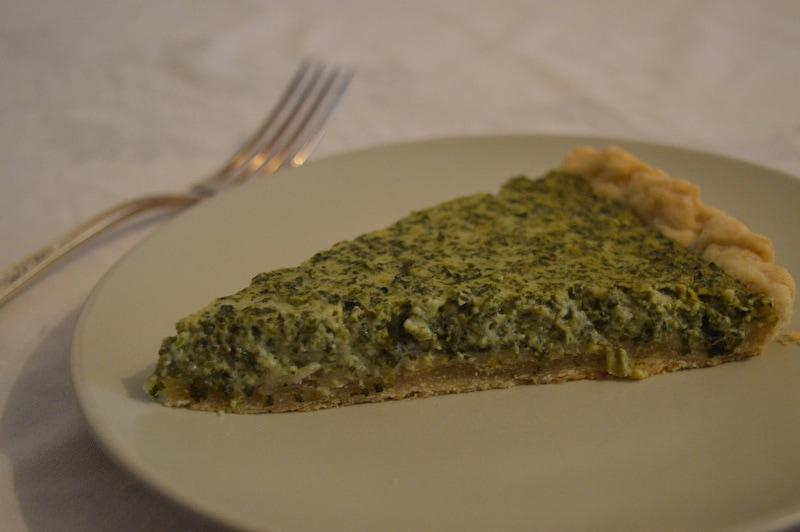 Grüne-Soße-Quiche