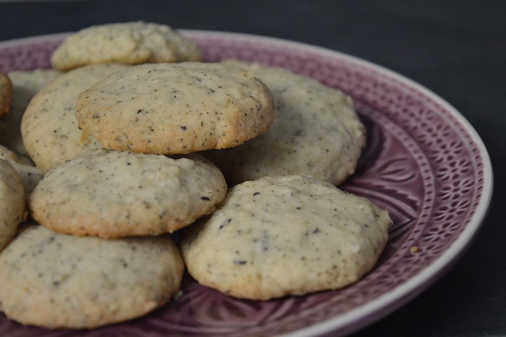 Earl Grey Kekse. Oder: Captain's Cookies