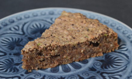 Zucchini-Schoko-Nuss Kuchen