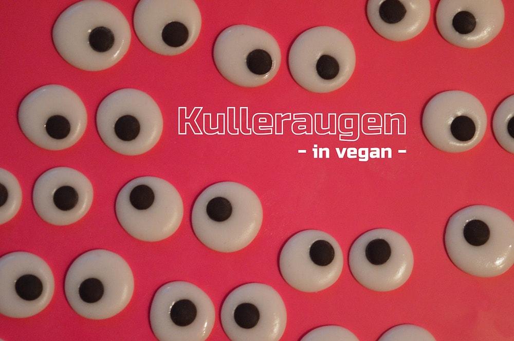 Augen zum Liebhaben – vegane Deko-Kulleraugen