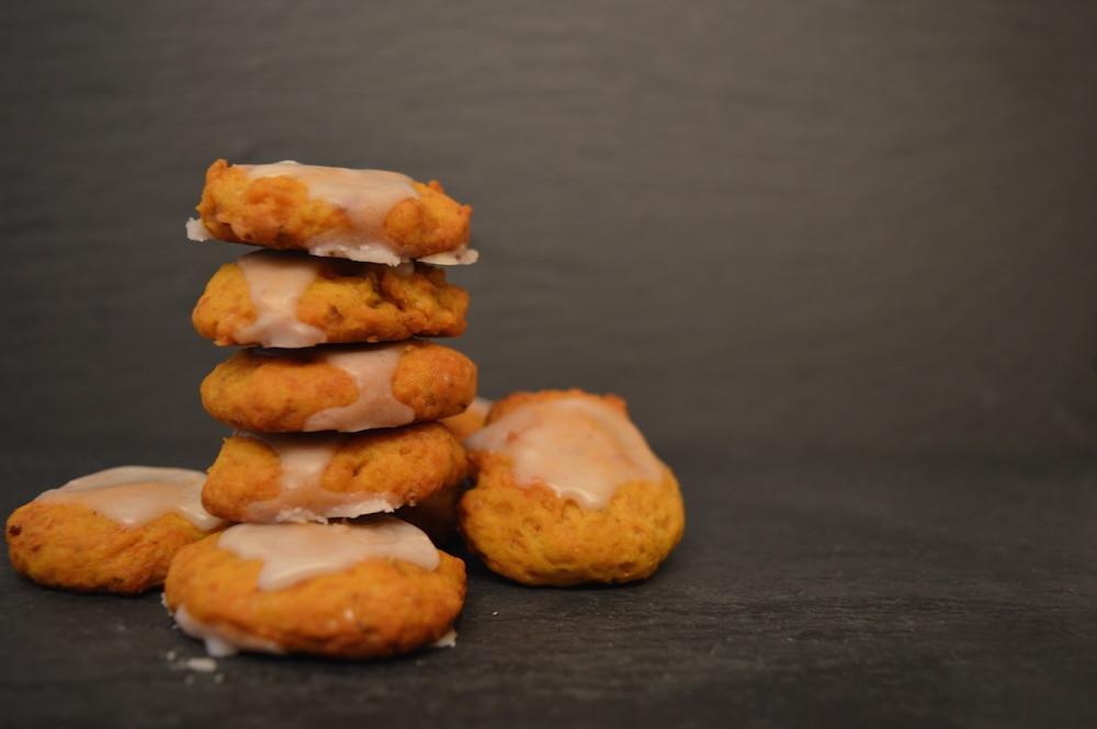 Kürbis-Maronen-Cookies