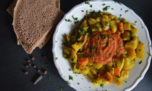Zwei eritreische Köstlichkeiten