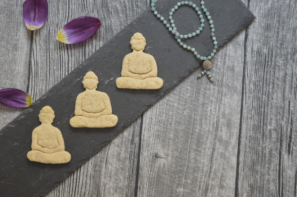 Buddha-Kekse sojafrei und vegan