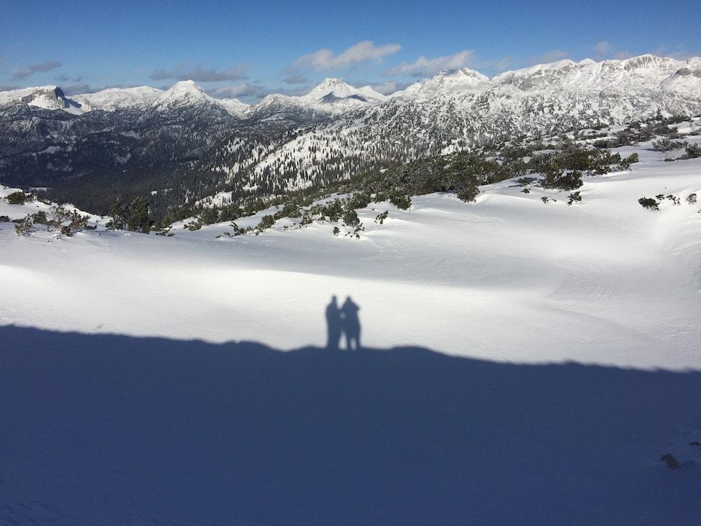 Gipfelpanorama und Schattenquatsch