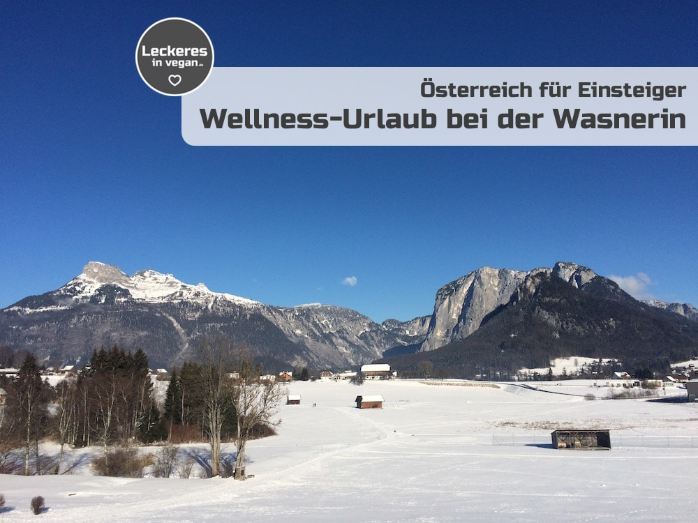 Wellness-Urlaub bei der Wasnerin vegan