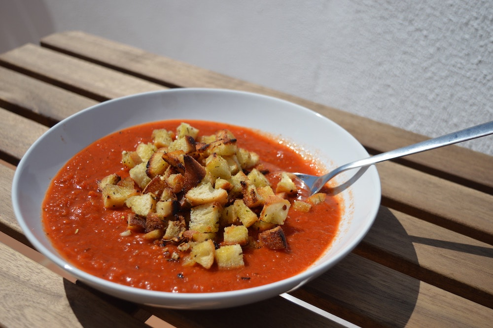 wunderbare Tomatensuppe