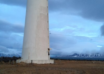 Der Leuchtturm von Seltjanarnes