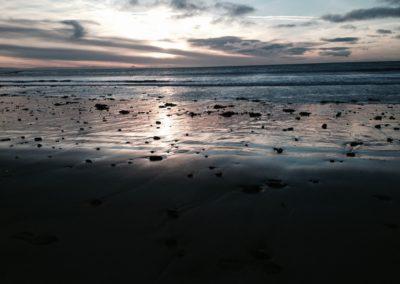 der schwarze Strand von Akranes